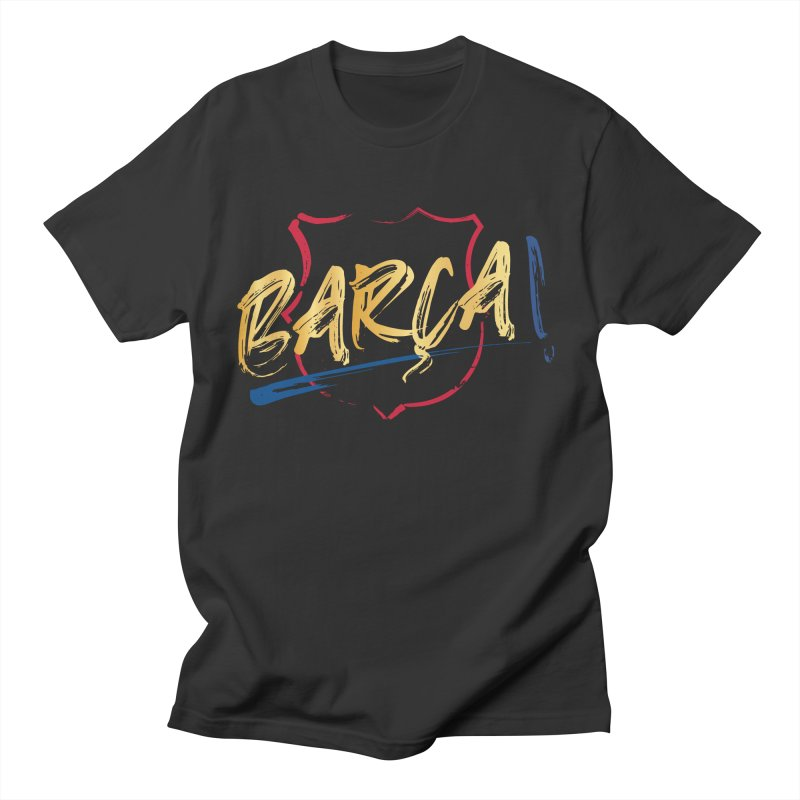 Barca! Men's T-Shirt by BM Design Shop