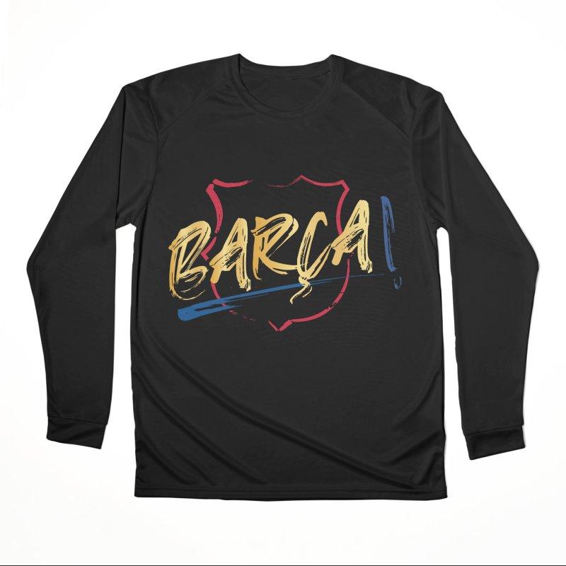 Barca! Men's Longsleeve T-Shirt by BM Design Shop