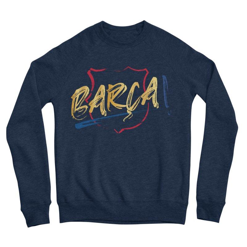 Barca! Men's Sweatshirt by BM Design Shop