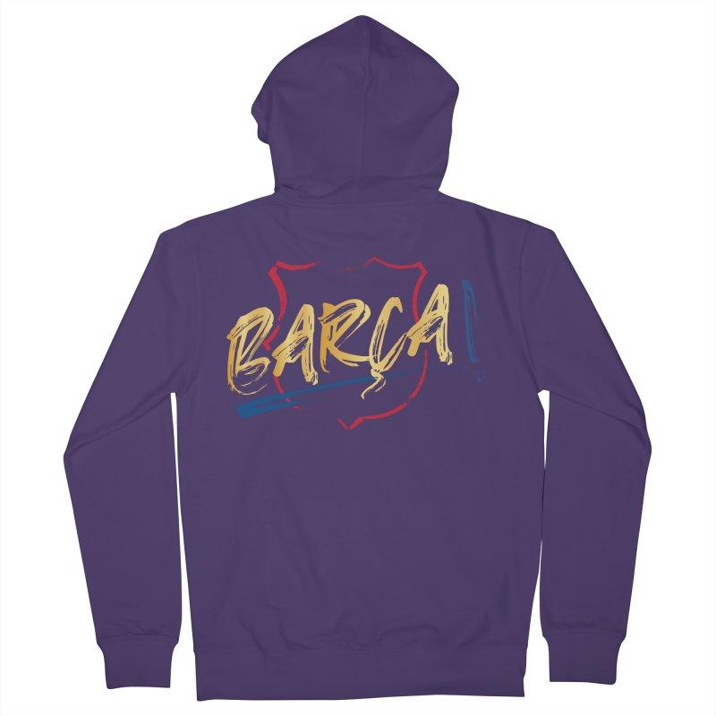 Barca! Women's Zip-Up Hoody by BM Design Shop