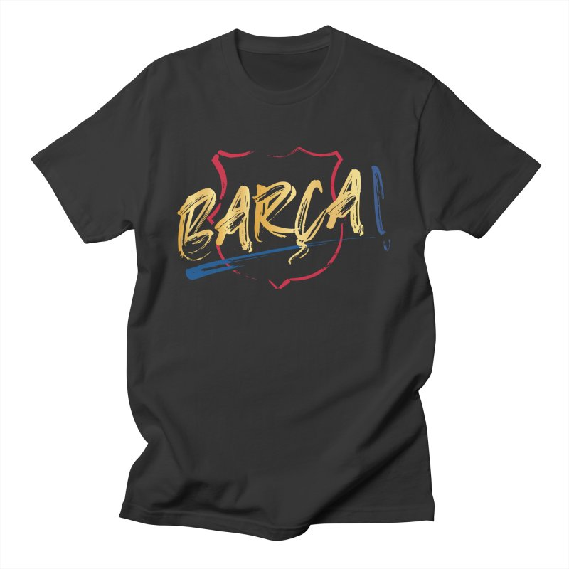 Barca! Men's T-Shirt by BM Design Shop