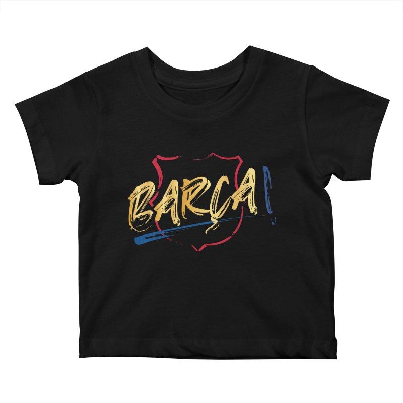 Barca! Kids Baby T-Shirt by BM Design Shop