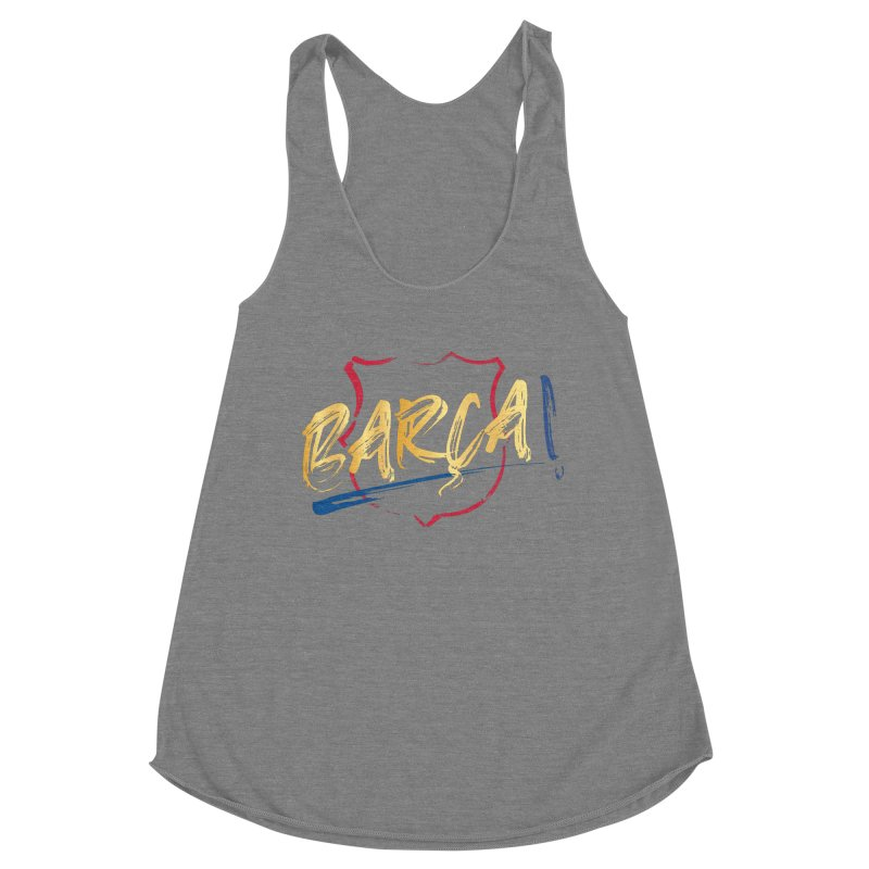Barca! Women's Tank by BM Design Shop
