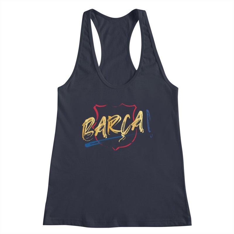 Barca! Women's Tank by BM Design Shop