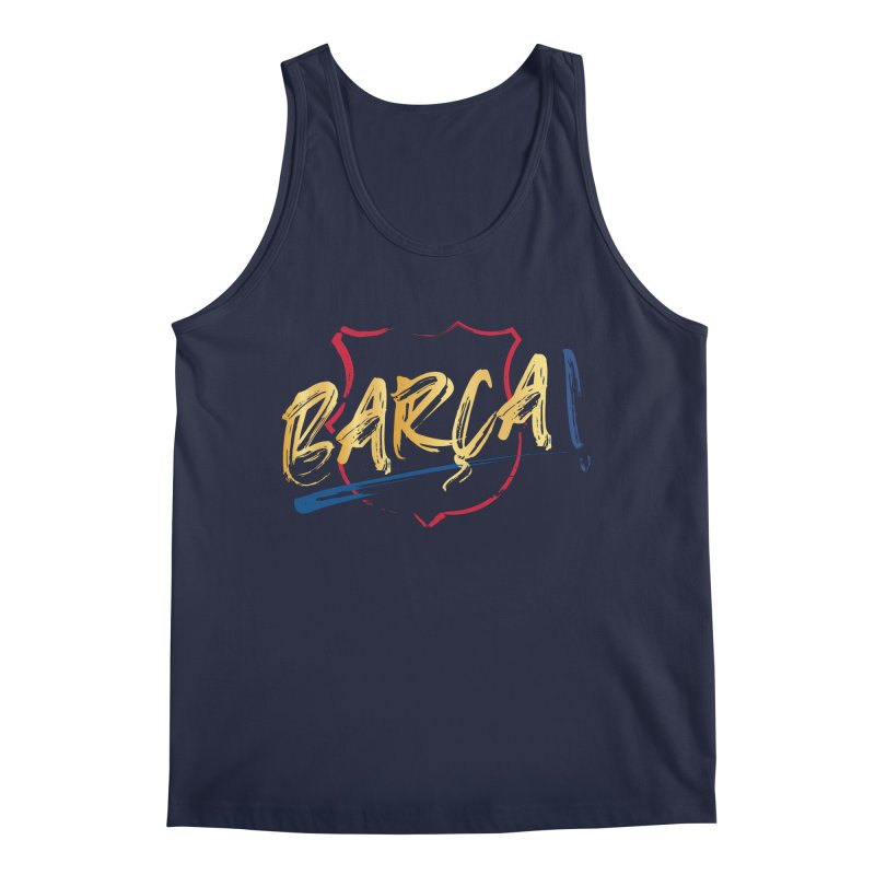 Barca! Men's Tank by BM Design Shop