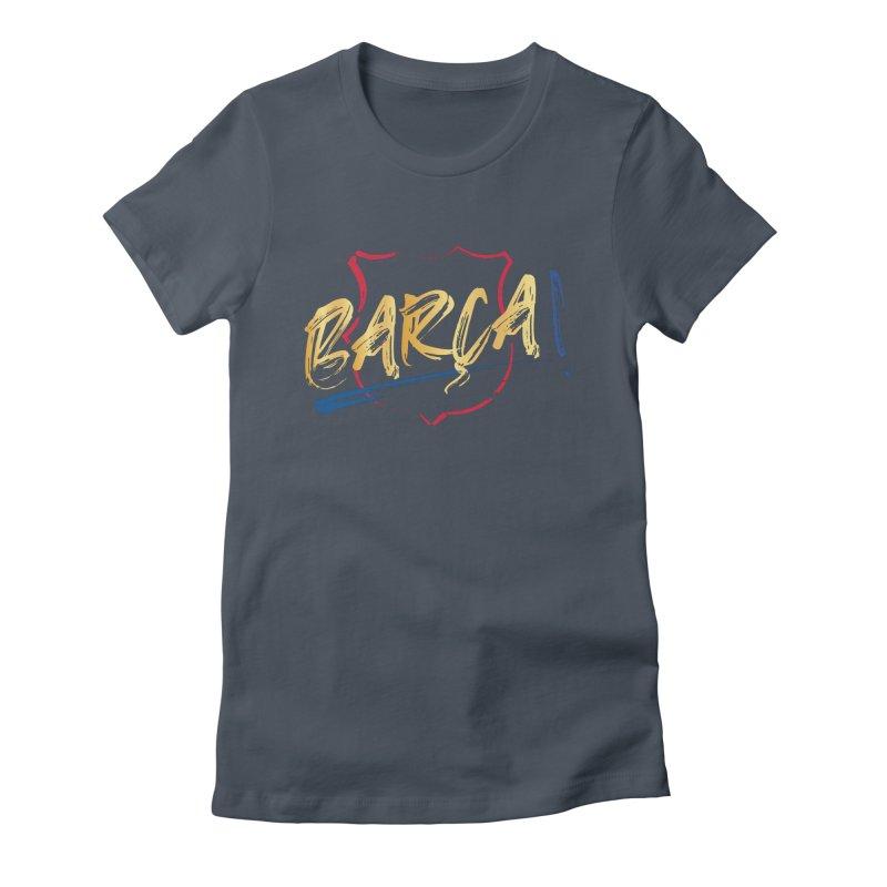 Barca! Women's T-Shirt by BM Design Shop