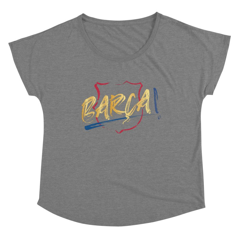 Barca! Women's Scoop Neck by BM Design Shop