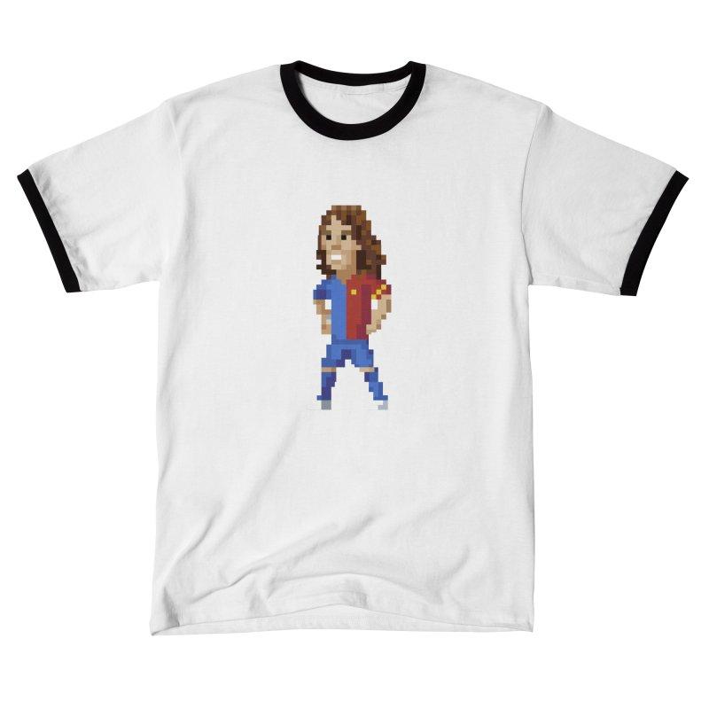 Pixel Puyol Men's T-Shirt by BM Design Shop