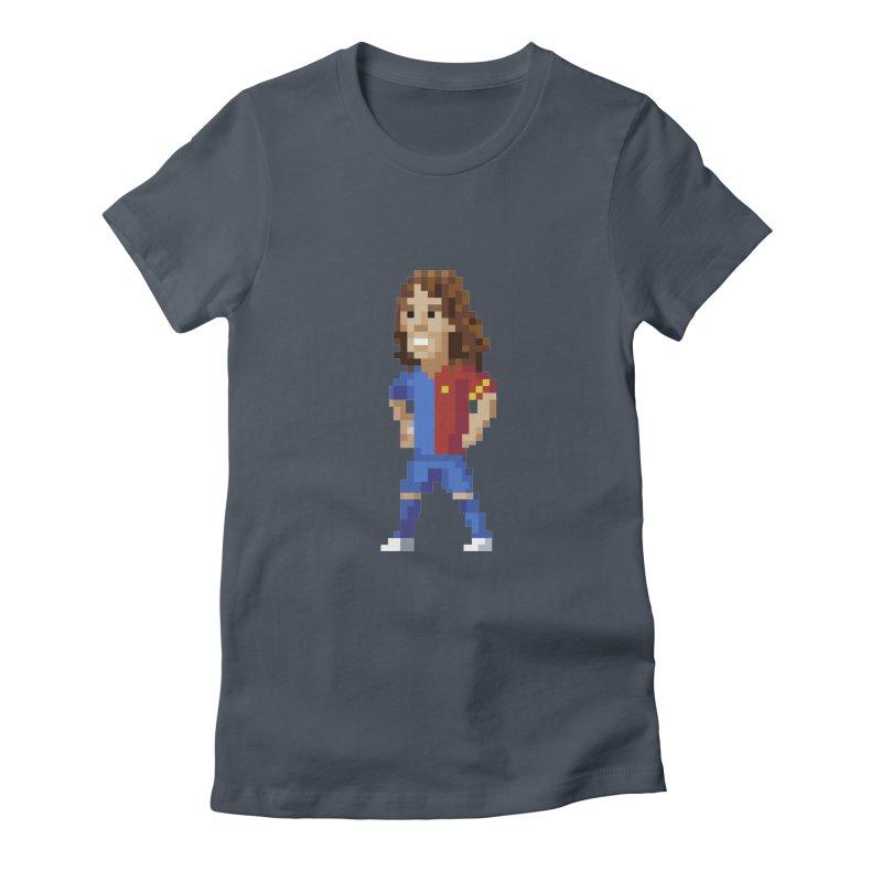 Pixel Puyol Women's T-Shirt by BM Design Shop