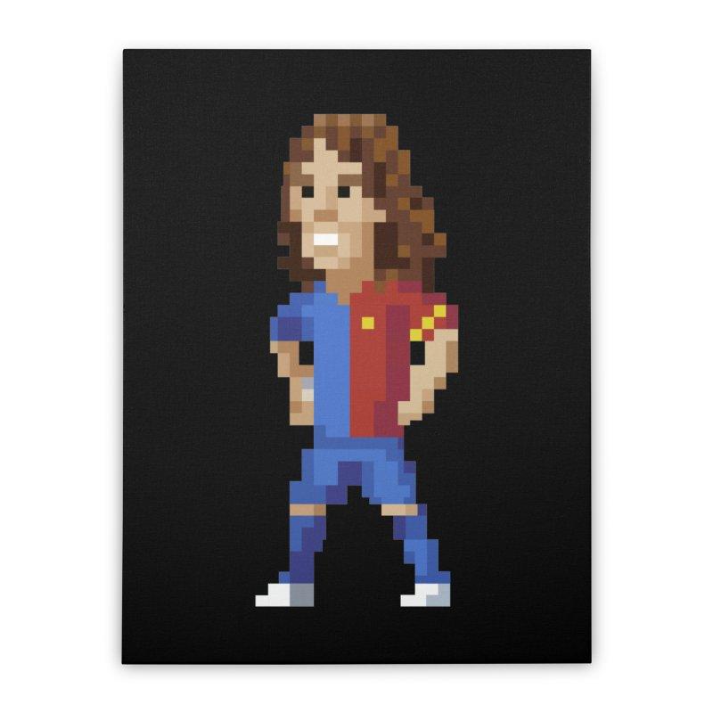 Pixel Puyol Home Stretched Canvas by BM Design Shop