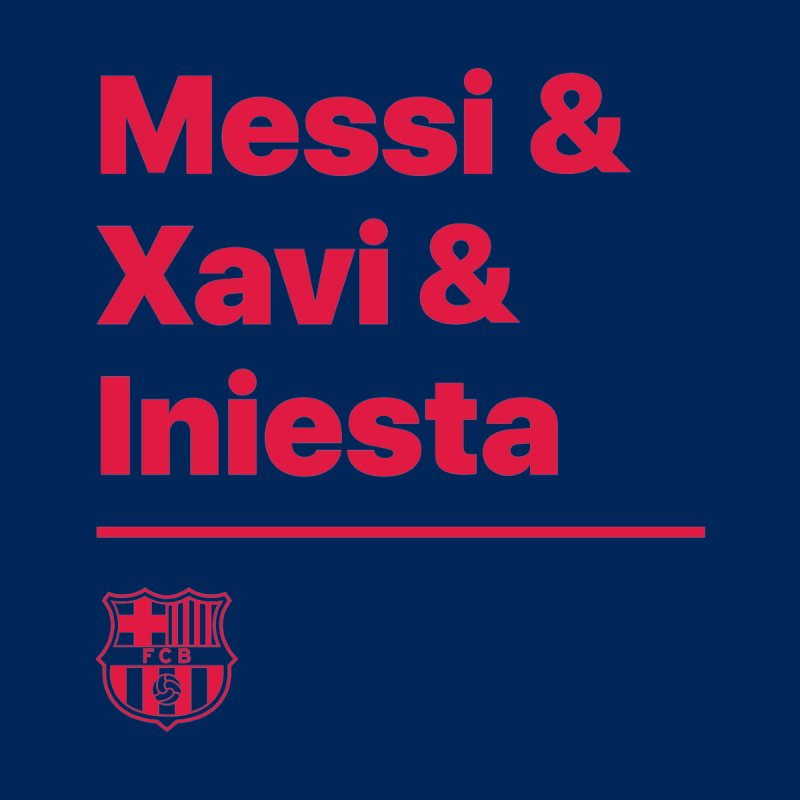 Xavi Messi Iniesta Men's Sweatshirt by BM Design Shop