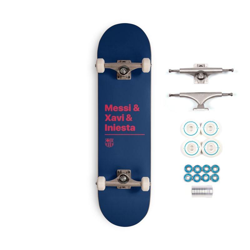 Xavi Messi Iniesta Accessories Skateboard by BM Design Shop
