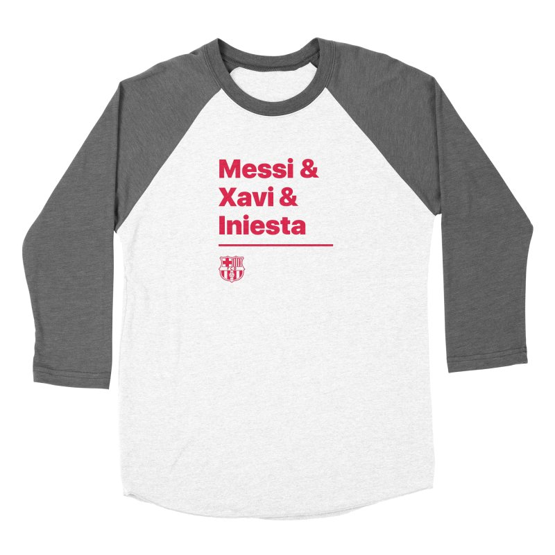 Xavi Messi Iniesta Women's Longsleeve T-Shirt by BM Design Shop