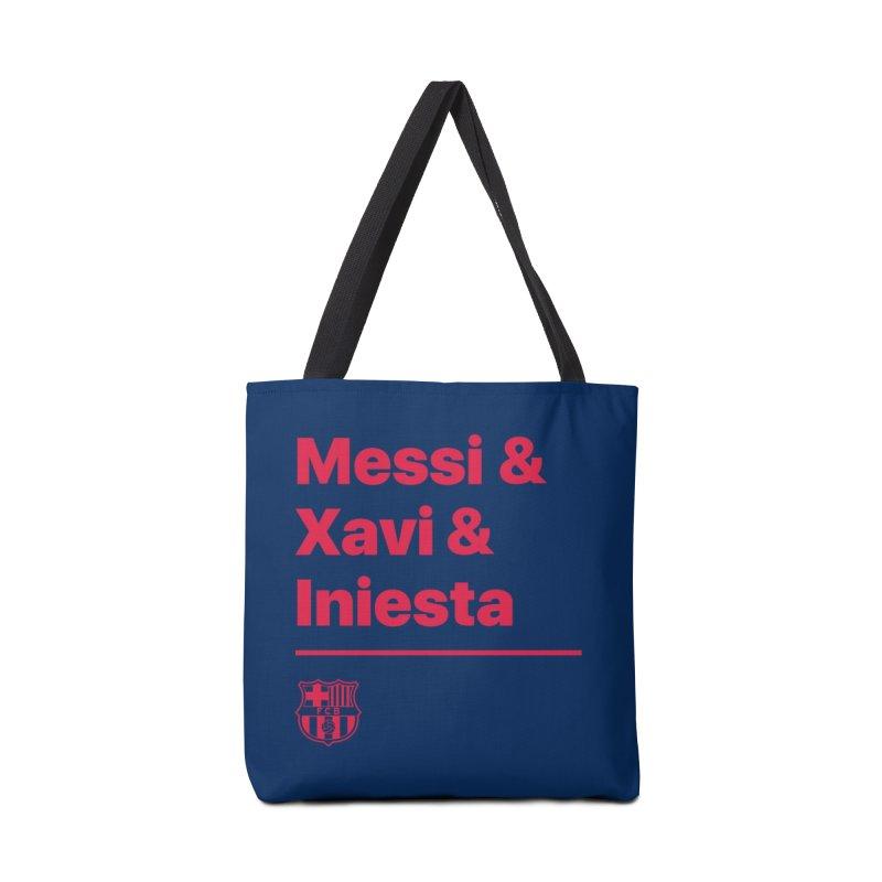 Xavi Messi Iniesta Accessories Bag by BM Design Shop