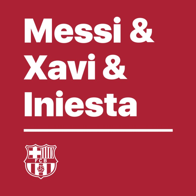 Messi Xavi Iniesta All Colors Men's Pullover Hoody by BM Design Shop