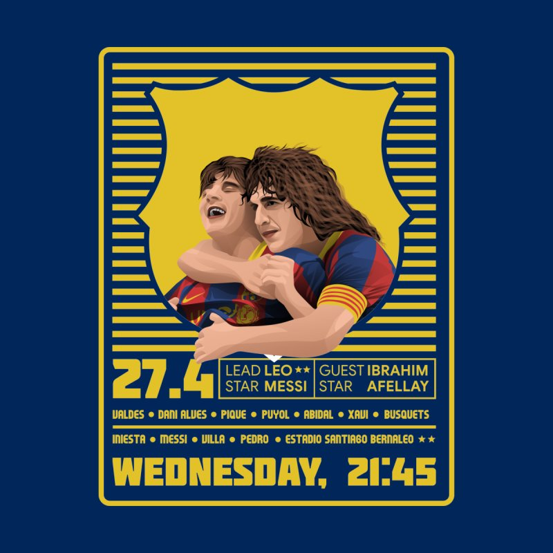 Messi World Tour Men's T-Shirt by BM Design Shop
