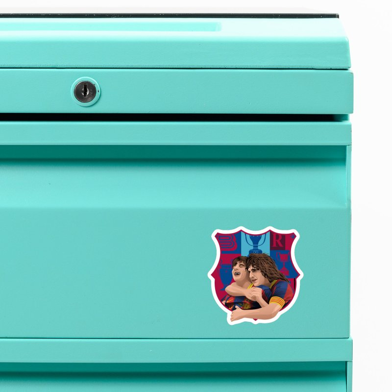Messi & Puyol Accessories Magnet by BM Design Shop