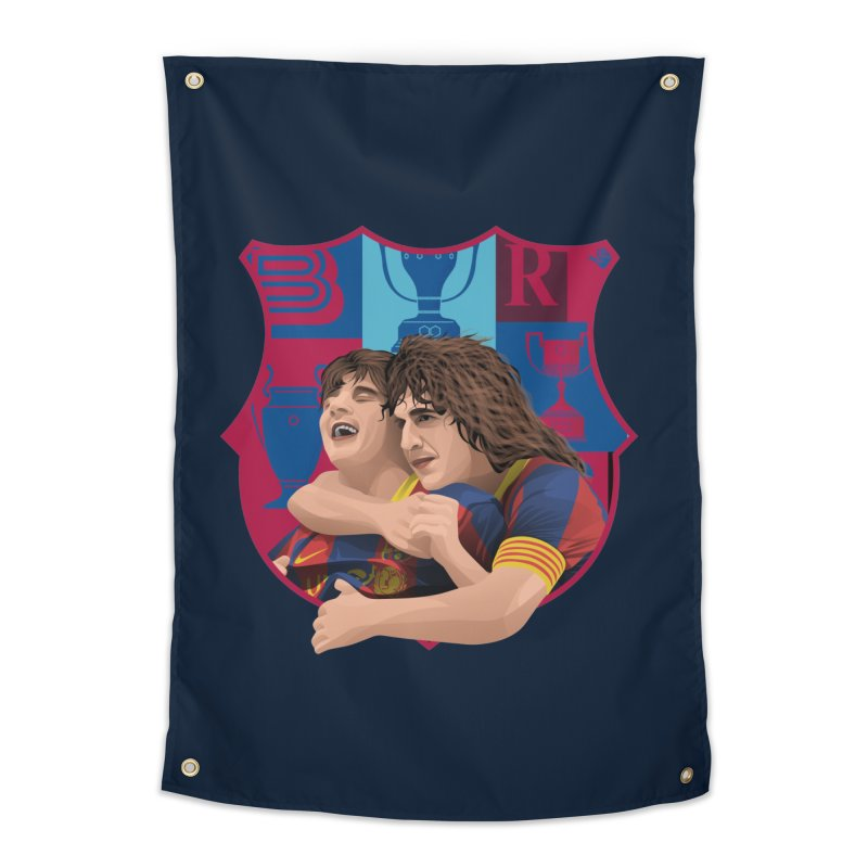 Messi & Puyol Home Tapestry by BM Design Shop