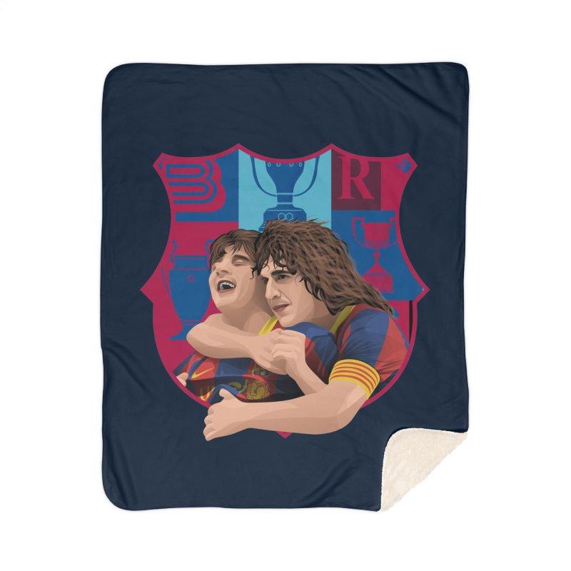 Messi & Puyol Home Blanket by BM Design Shop