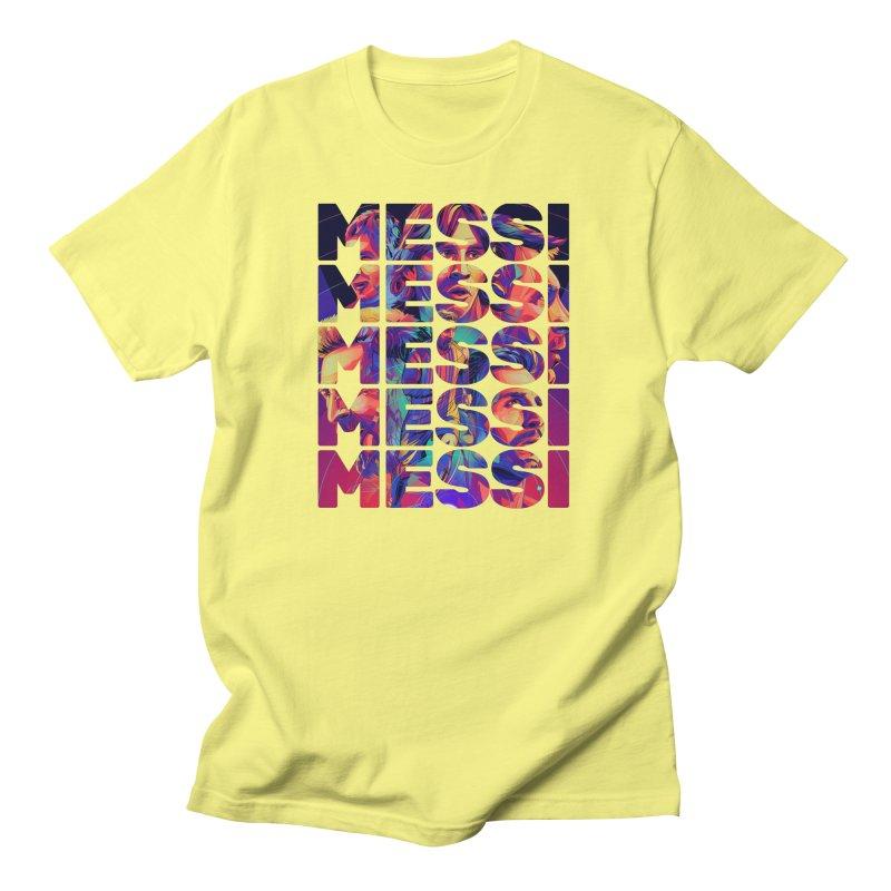 Leo Messi Men's T-Shirt by BM Design Shop