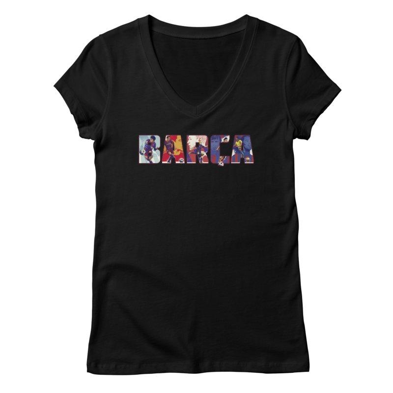 FCB Women's V-Neck by BM Design Shop