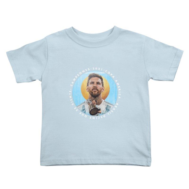 Messi Copa America Kids Toddler T-Shirt by BM Design Shop