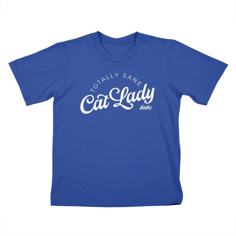Cat Lady Kids T-Shirt by BARCS Online Shop