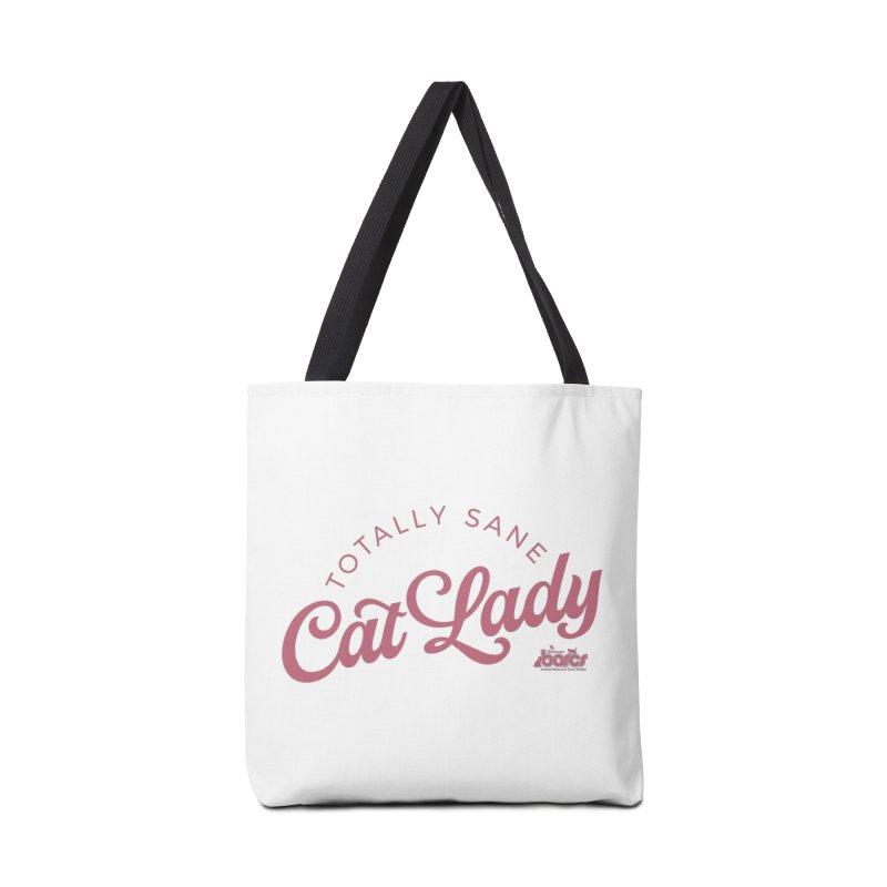 Cat Lady Accessories Tote Bag Bag by BARCS Online Shop