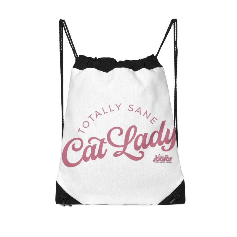 Cat Lady Accessories Drawstring Bag Bag by BARCS Online Shop