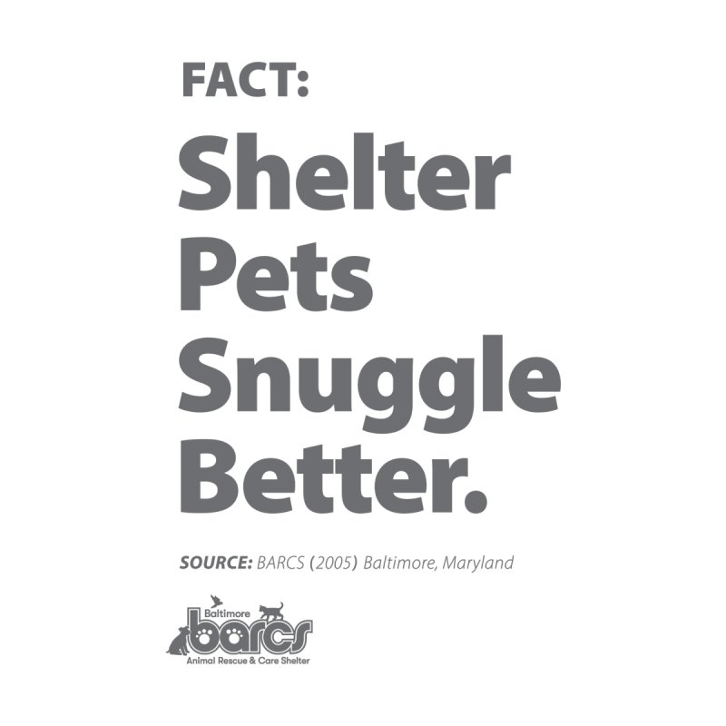 Shelter Pets Snuggle Better Accessories Magnet by BARCS Online Shop