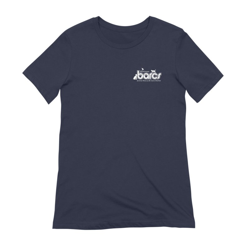 BARCS Logo Chest in Women's Extra Soft T-Shirt Navy by BARCS Online Shop