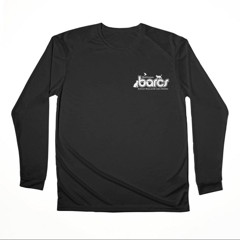 BARCS Logo Chest in Women's Performance Unisex Longsleeve T-Shirt Black by BARCS Online Shop
