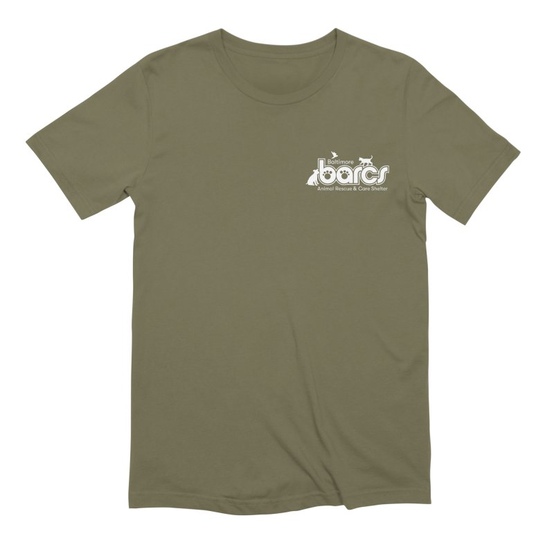BARCS Logo Chest in Men's Extra Soft T-Shirt Olive by BARCS Online Shop