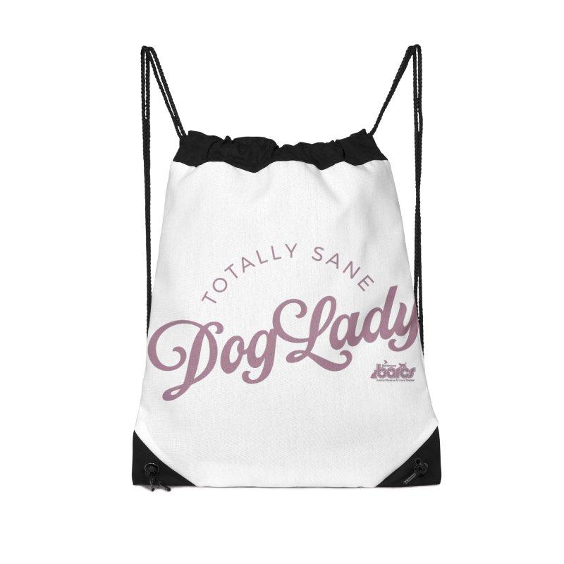 Dog Lady Accessories Drawstring Bag Bag by BARCS Online Shop