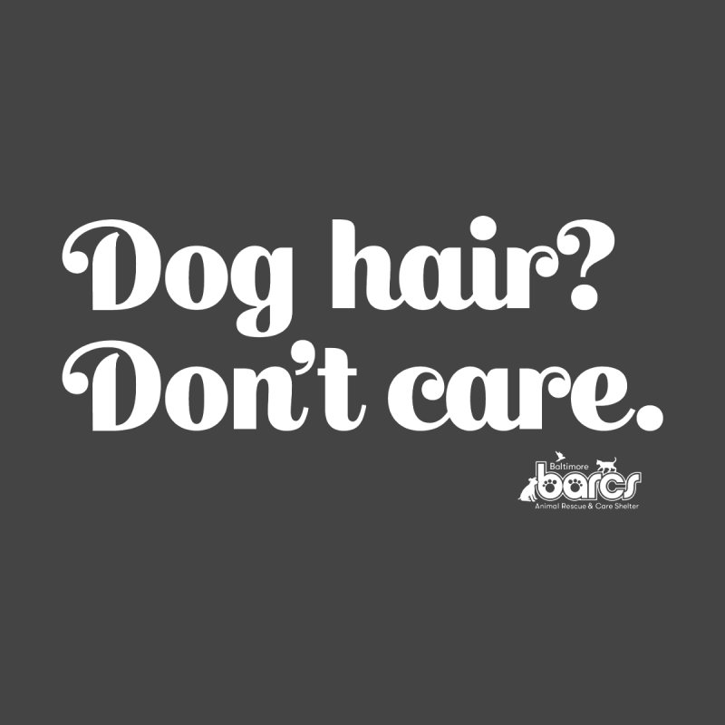 Dog Hair Don't Care Men's Pullover Hoody by BARCS Online Shop