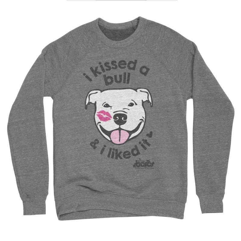 I Kissed a Bull in Women's Sponge Fleece Sweatshirt Grey Triblend by BARCS Online Shop