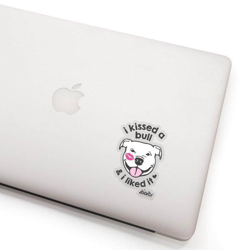 I Kissed a Bull Accessories Sticker by BARCS Online Shop