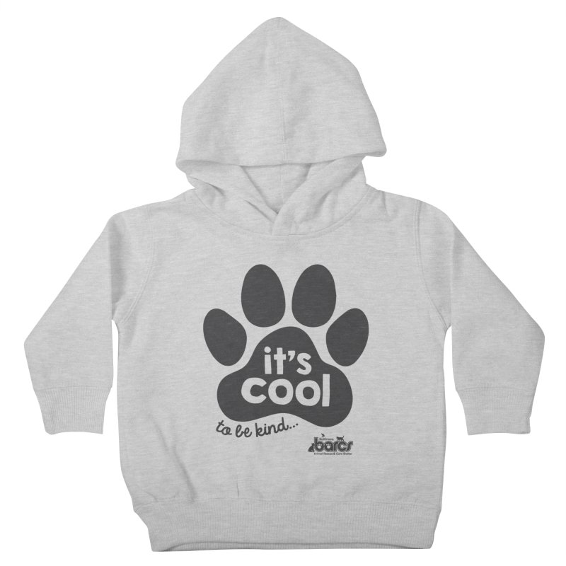 It's Cool to Be Kind Kids Toddler Pullover Hoody by BARCS Online Shop