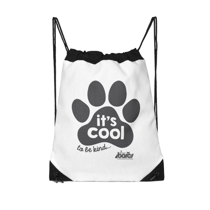 It's Cool to Be Kind Accessories Drawstring Bag Bag by BARCS Online Shop
