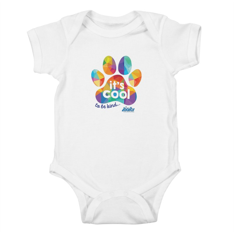 It's Cool to Be Kind Kids Baby Bodysuit by BARCS Online Shop