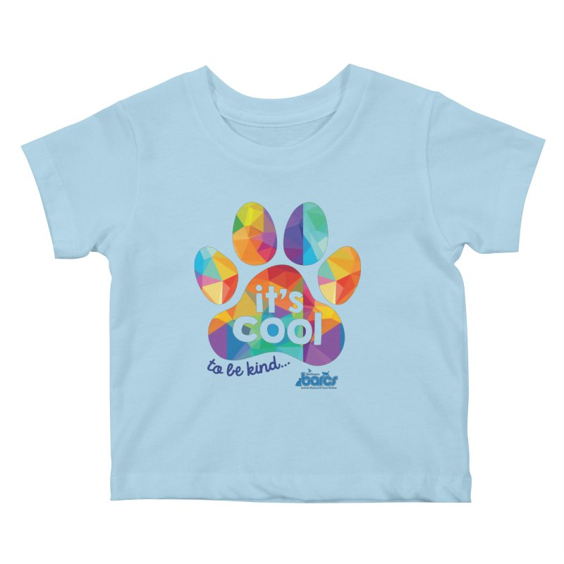 It's Cool to Be Kind Kids Baby T-Shirt by BARCS Online Shop