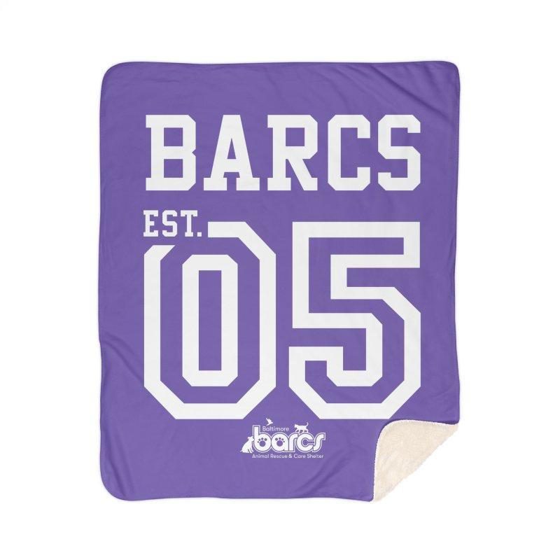 BARCS Football Tee Home Sherpa Blanket Blanket by BARCS Online Shop