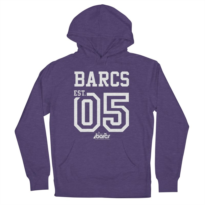BARCS Football Tee in Men's French Terry Pullover Hoody Heather Purple by BARCS Online Shop