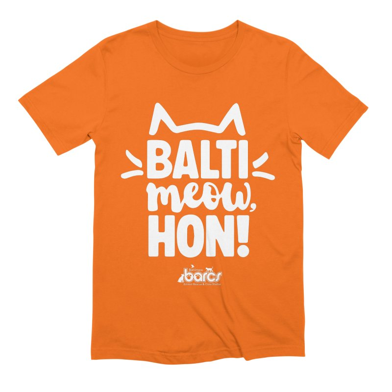 Balti-Meow, Hon! Men's T-Shirt by BARCS Online Shop