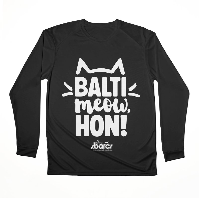 Balti-Meow, Hon! Women's Performance Unisex Longsleeve T-Shirt by BARCS Online Shop