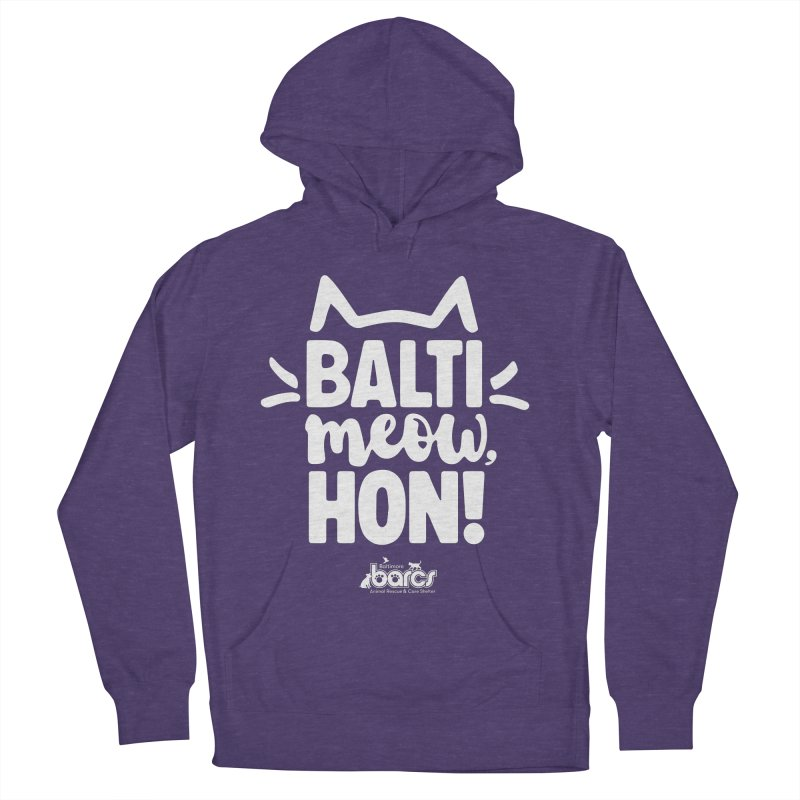 Balti-Meow, Hon! Women's French Terry Pullover Hoody by BARCS Online Shop