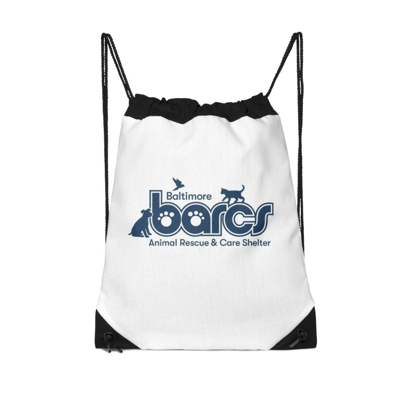 BARCS Logo Accessories Drawstring Bag Bag by BARCS Online Shop