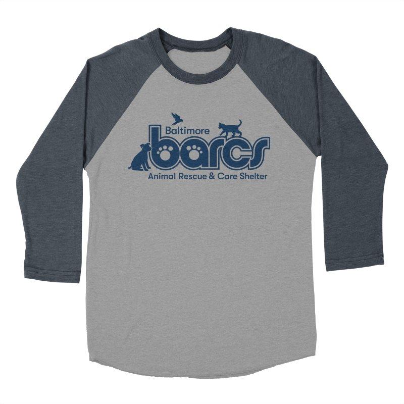 BARCS Logo Women's Baseball Triblend Longsleeve T-Shirt by BARCS Online Shop