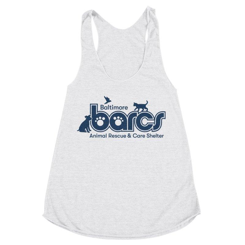 BARCS Logo Women's Racerback Triblend Tank by BARCS Online Shop
