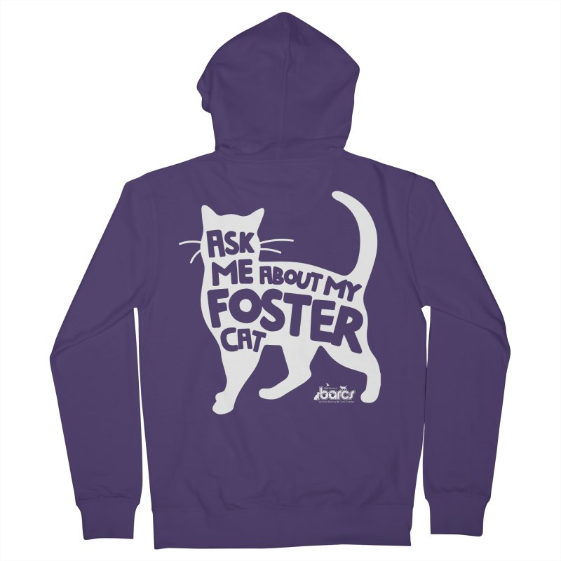Ask Me About My Foster Cat Women's Zip-Up Hoody by BARCS Online Shop